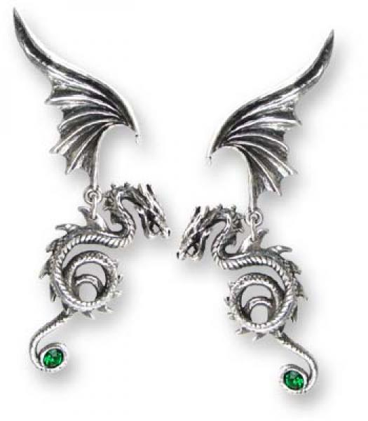 Bestia Regalis Pewter Earrings